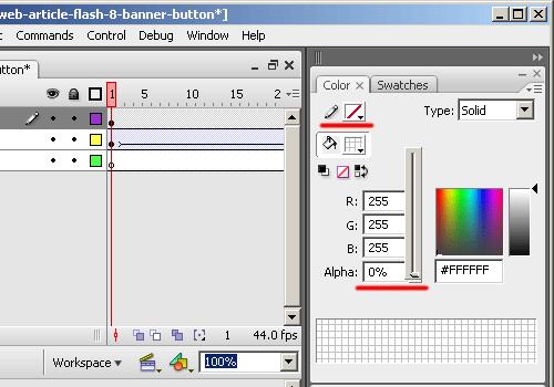 Рисуем прямоугольник во flash