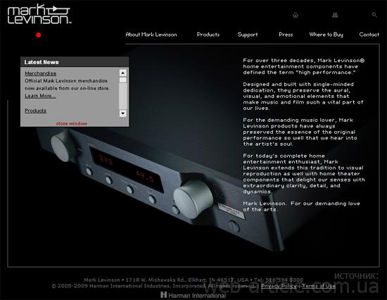 Пример веб-дизайна