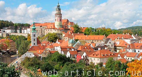 Красоты Чехии
