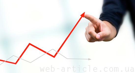 График роста позиций