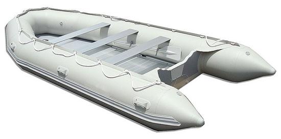 Пример красивой надувной лодки