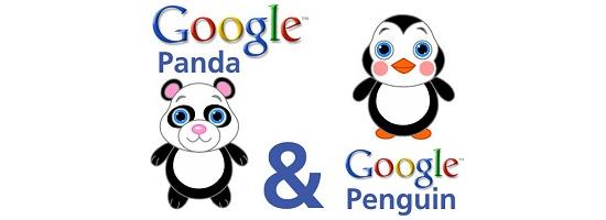 Пингвин и Панда