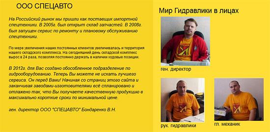 Информация о компании Мир гидравлики