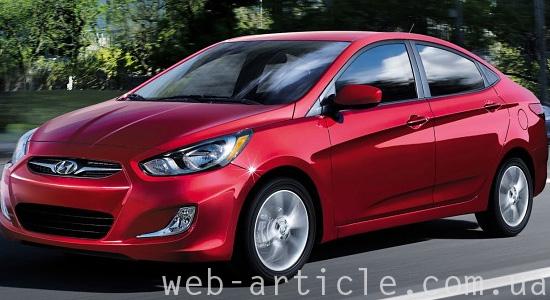 Автомобиль Hyundai Accent 2013