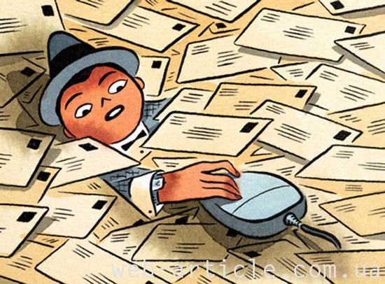 Селекция и сортировка почты