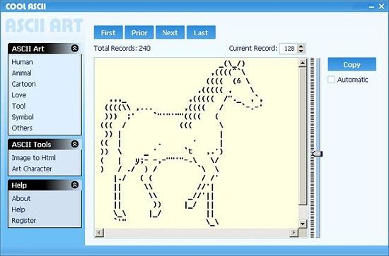 Cool ASCII