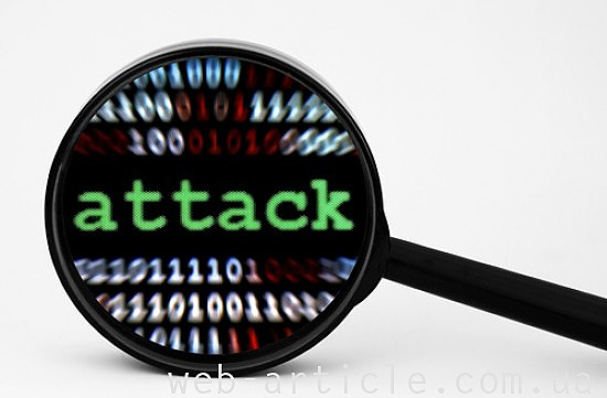 Хакерская атака с помощью DDoS
