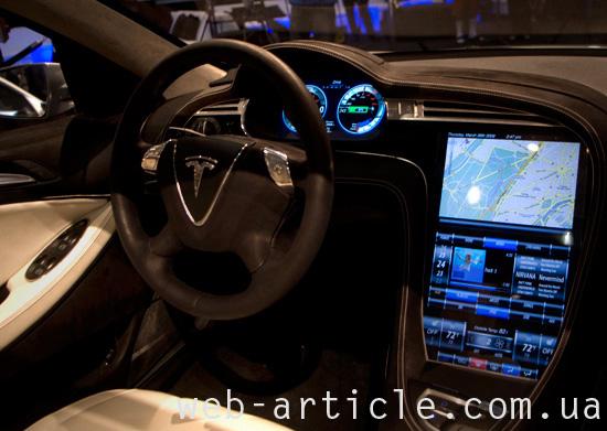 Электромобиль Tesla S