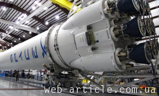 цех сборки SpaceX