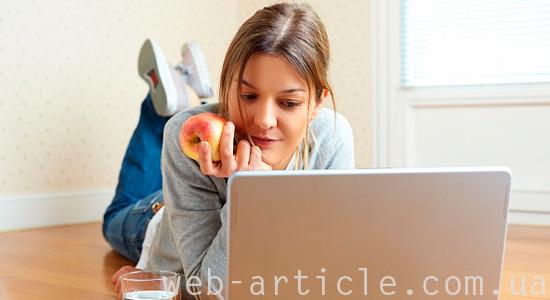Девушка-блогер