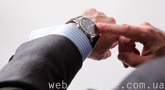 Сайт о часах