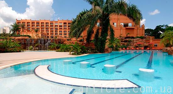 Гостиница в столице Уганды