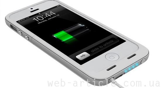 работа батареи айфона