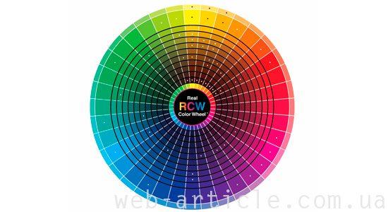 круг цвета