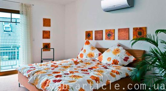 Микроклимат в спальне жилого дома