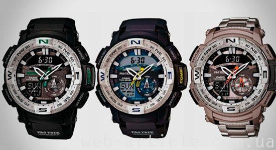 часы компании Касио