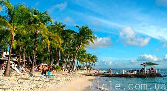 пляжи в Гваделупе