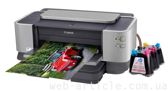 принтер красками
