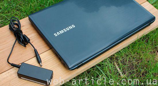 ноутбук самсунг с зарядным устройством