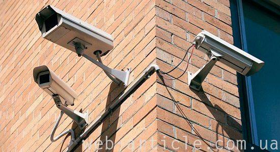 наружные видеокамеры