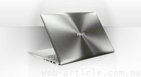 современный ноутбук Asus