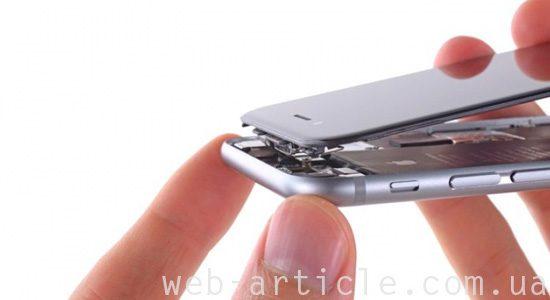 замена экрана и стекла на айфон
