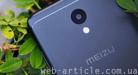 смартфон Meizu с камерой