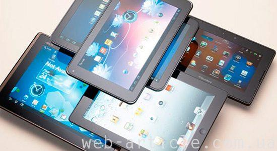 модели популярных планшетов