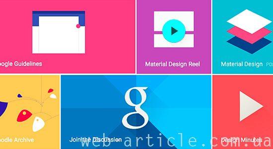 материальный дизайн Гугла