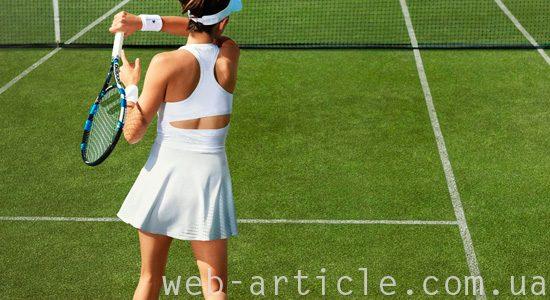 женский костюм для тенниса