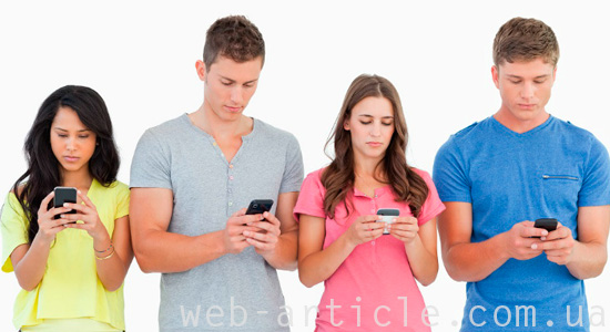 пользователи социальных сетей