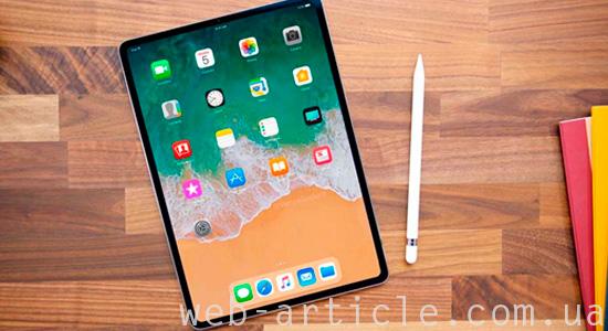 гнущийся планшет iPad Pro