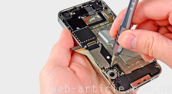 ремонт шлейфа телефона