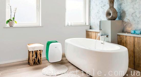 осушитель воздуха в ванной комнате